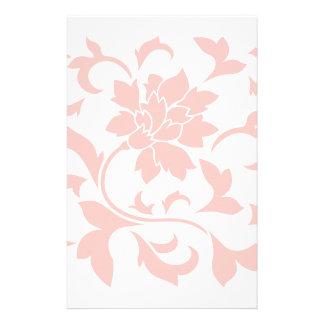 Orientalische Blume - Rosen-Quarz Briefpapier