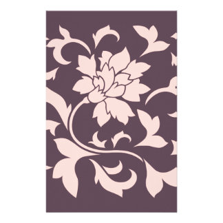 Orientalische Blume - Rosen-Quarz u. Briefpapier