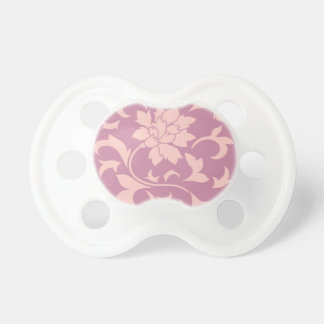 Orientalische Blume - Rosen-Quarz u. Erdbeere Schnuller