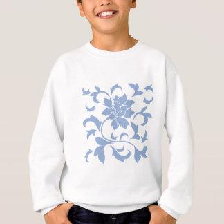 Orientalische Blume - Serenity-Blau Sweatshirt