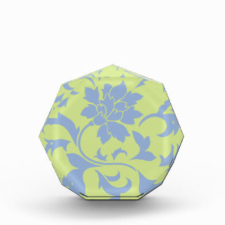 Orientalische Blume - Serenity-Blau u. Auszeichnung