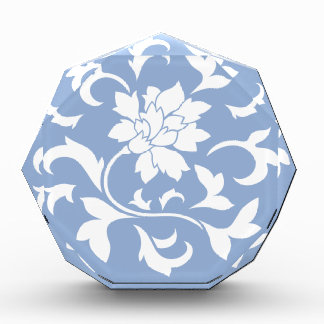 Orientalische Blume - Serenity-blaues Kreismuster Auszeichnung