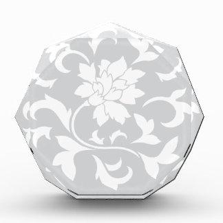 Orientalische Blume - silbernes Kreismuster Auszeichnung