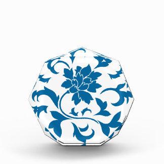 Orientalische Blume - Snorkel-blaues Kreismuster Auszeichnung