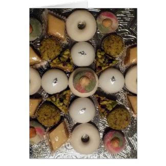 Orientalische Kuchen Karte