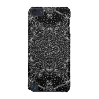 Orientalische Zen-Mandala Schwarzweiss iPod Touch 5G Hülle