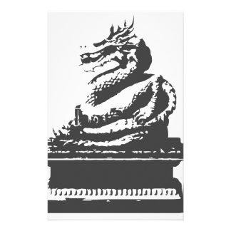 orientalischer Drache Briefpapier