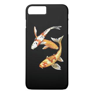 Orientalischer Koi Goldfisch auf drastischem iPhone 8 Plus/7 Plus Hülle