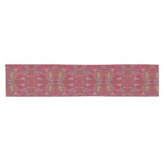 Orientalischer Marmormalerei-Tabellen-Läufer Kurzer Tischläufer