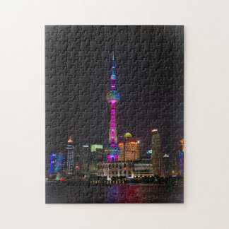 Orientalischer Perlen-Turm - Shanghai, China Puzzle