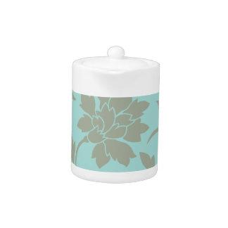 Orientalisches Blume-Limpet Muschel-Olive Grün