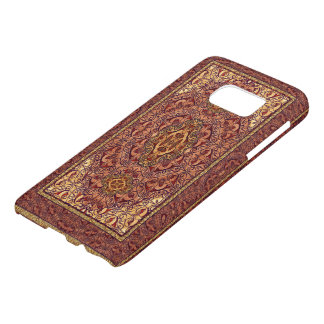 Orientalisches persisches rotes Gold
