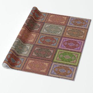Orientalisches persisches Wolldecke-Muster Geschenkpapier