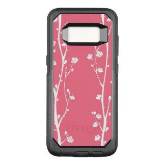 Orientalisches Pflaumenblütenmuster OtterBox Commuter Samsung Galaxy S8 Hülle