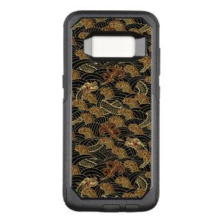 Orientalisches Seedrache-Muster OtterBox Commuter Samsung Galaxy S8 Hülle