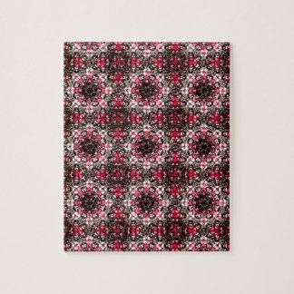 Orientalisches verziertes Muster Puzzle