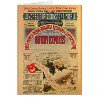 Orientexpress Grußkarten
