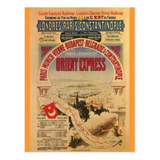 Orientexpress Postkarten