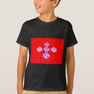 ORIGAMI BLUMEN-JAPANISCHES PAPIER-KUNST T-Shirt