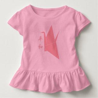 Origami Friedenskran Kleinkind T-shirt