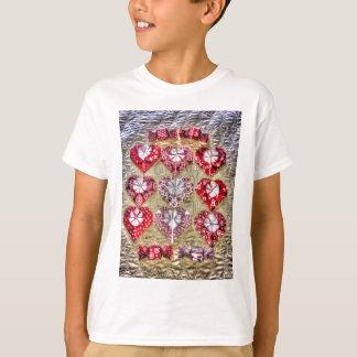 ORIGAMI HERZ-PAPIERkunst T-Shirt