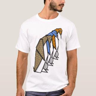 Origami Kaiser-Pinguine T-Shirt