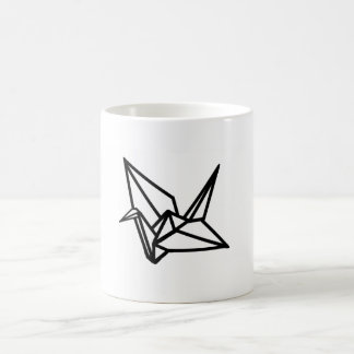 Origami Kran-Entwurfs-Tasse stilvoll Kaffeetasse