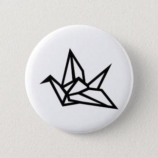 Origami Kran Runder Button 5,7 Cm