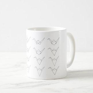 Origami Papierkran-Tasse Kaffeetasse