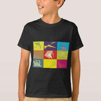 Origami Pop-Kunst T-Shirt
