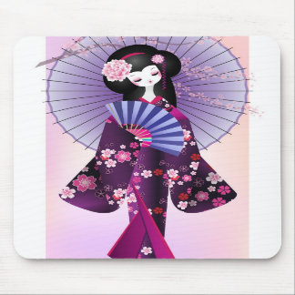 Origami Puppe 2 Mousepad