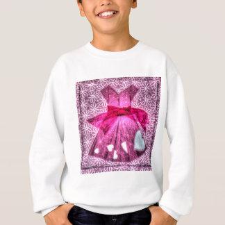 ORIGAMI ROSA-KLEIDERjapanisches PAPIER-KUNST Sweatshirt