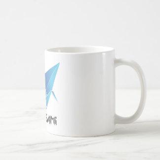 origami Vogel Kaffeetasse