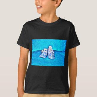 ORIGANI BLAUE BABYSCHUH-JAPANISCHES PAPIER-KUNST T-Shirt