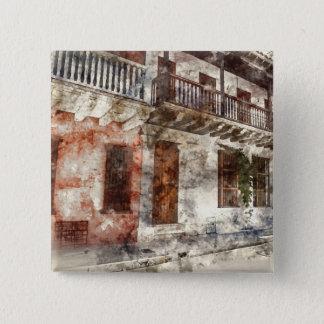 Originalvorlage von Cartagen Kolumbien Quadratischer Button 5,1 Cm