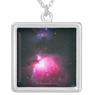 Orions-Nebelfleck 2 Versilberte Kette