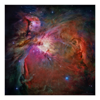 Orions-Nebelfleck 42x42 (30x30) Poster