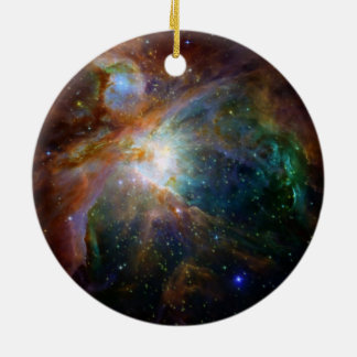 Orions-Nebelfleck die rötlich braune NASA Keramik Ornament
