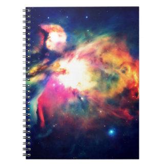 Orions-Nebelfleck ergreifend schön Spiral Notizblock