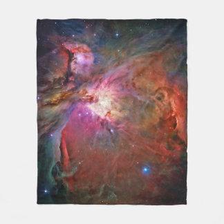 Orions-Nebelfleck-Fleece-Decke Fleecedecke
