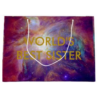 Orions-Nebelfleck Fuschia die rosa NASA Große Geschenktüte