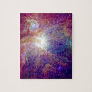 Orions-Nebelfleck Fuschia die rosa NASA Puzzle