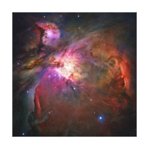 Orions-Nebelfleck (Hubble Teleskop) Leinwand Drucke