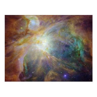 Orions-Nebelfleck-Postkarte Postkarte