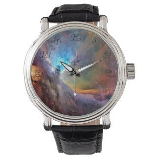 Orions-Nebelfleck-Raum-Galaxie Armbanduhr