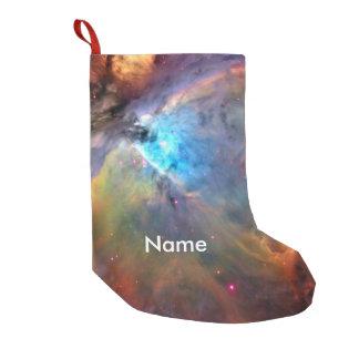 Orions-Nebelfleck-Raum-Galaxie Kleiner Weihnachtsstrumpf