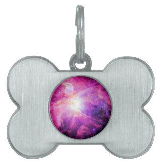 Orions-Nebelfleck-Rosa-lila Galaxie Tiermarke