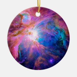 Orions-Nebelfleck Rundes Keramik Ornament