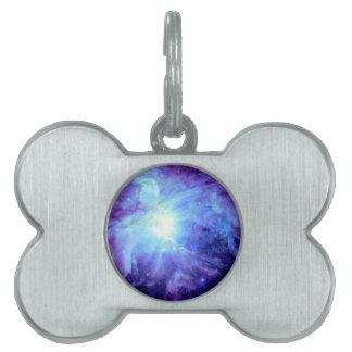 Orions-Nebelfleck-Türkis-Singrün-Lavendel-Galaxie Tiermarke