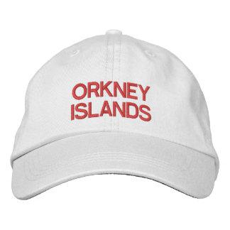 Orkney-Insel-personalisierter justierbarer Hut